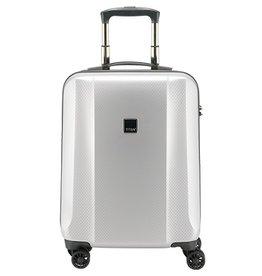 Titan Titan Xenon Deluxe handbagagetrolley Small Zilver