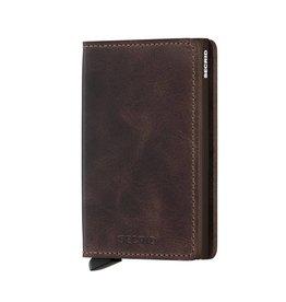 Secrid Secrid Slim Wallet Vintage Chocolate pasjeshouder