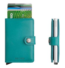 Secrid Secrid Mini Wallet Original Emerald pasjeshouder