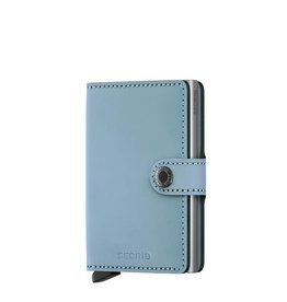 Secrid Secrid Mini Wallet Matte Blue pasjeshouder