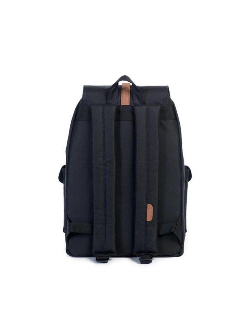 Herschel Herschel Dawson Black Tan rugzak schooltas met 15 inch laptopvak