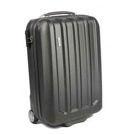Line Line Fuse Upright 55 Antracite handbagage koffer
