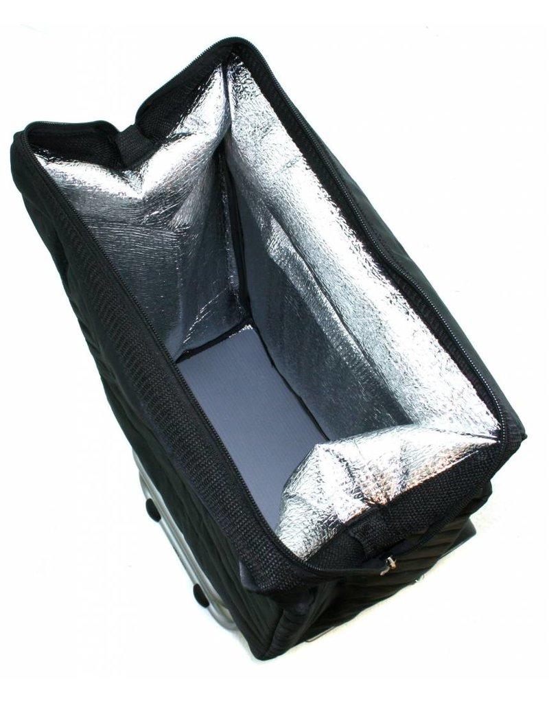 Secc Secc Ancorage Boodschappentrolley met koelvak zwart