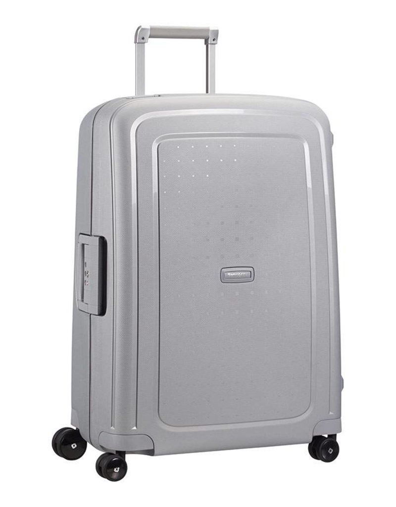 Samsonite Samsonite S'Cure Spinner 69cm zilver reistrolley