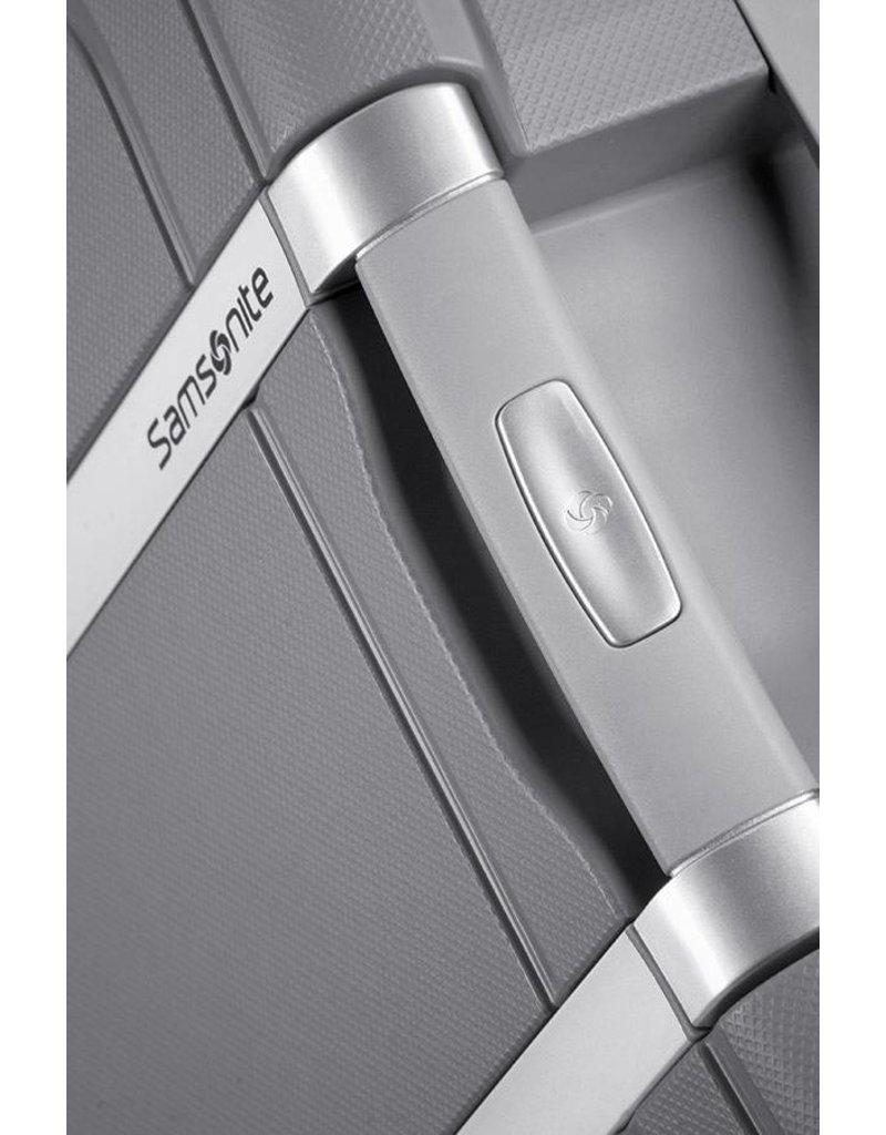 Samsonite Samsonite S'Cure Spinner 69cm zilver reistrolley