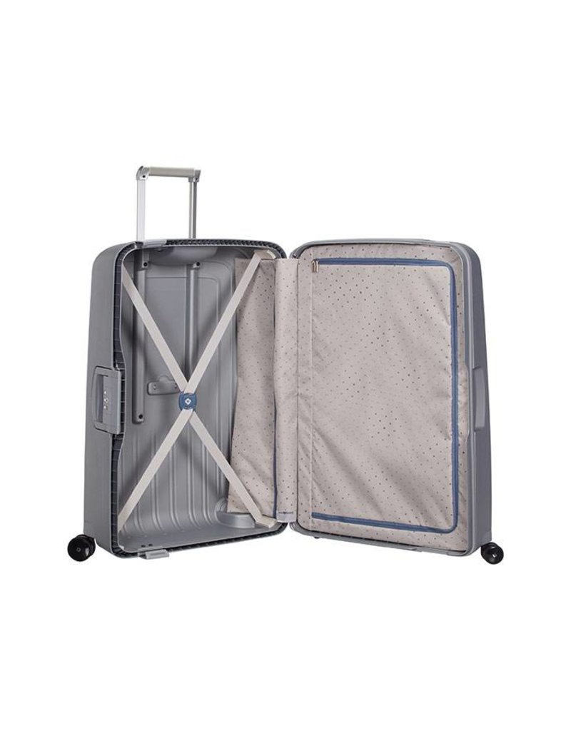 samsonite s'cure spinner 75 zilver