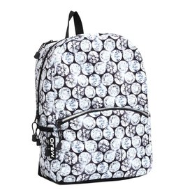 Mojo Mojo rugzak Bling with Lights schooltas met tabletvak