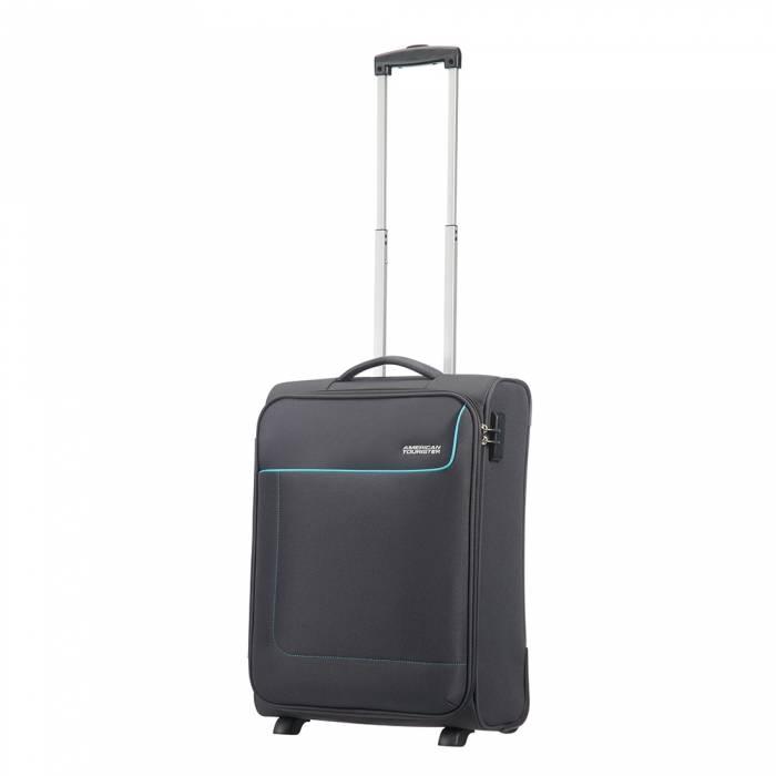American Tourister American Tourister Funshine Upright 55 handbagage koffer Sparkling Graphite