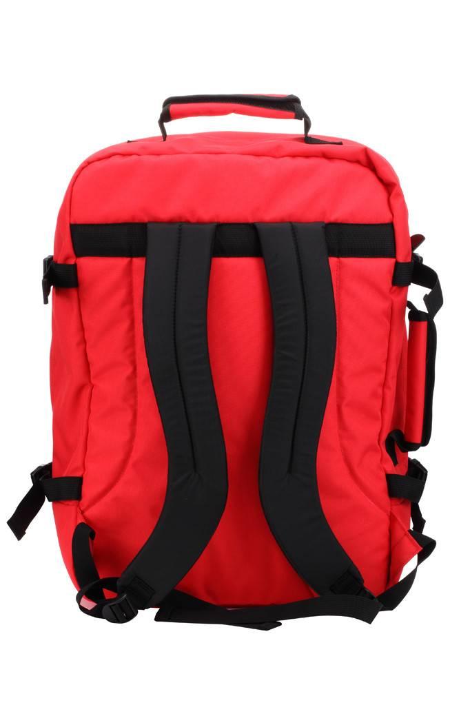 Cabinzero Cabinzero Classic handbagage Mysore Red ultralichte cabin rugzak