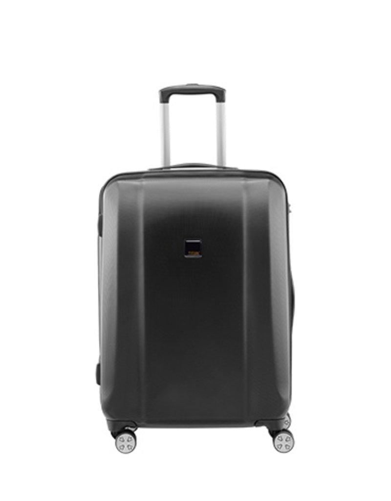 titan xenon lichte spinner zwart koffer 80 liter. Black Bedroom Furniture Sets. Home Design Ideas