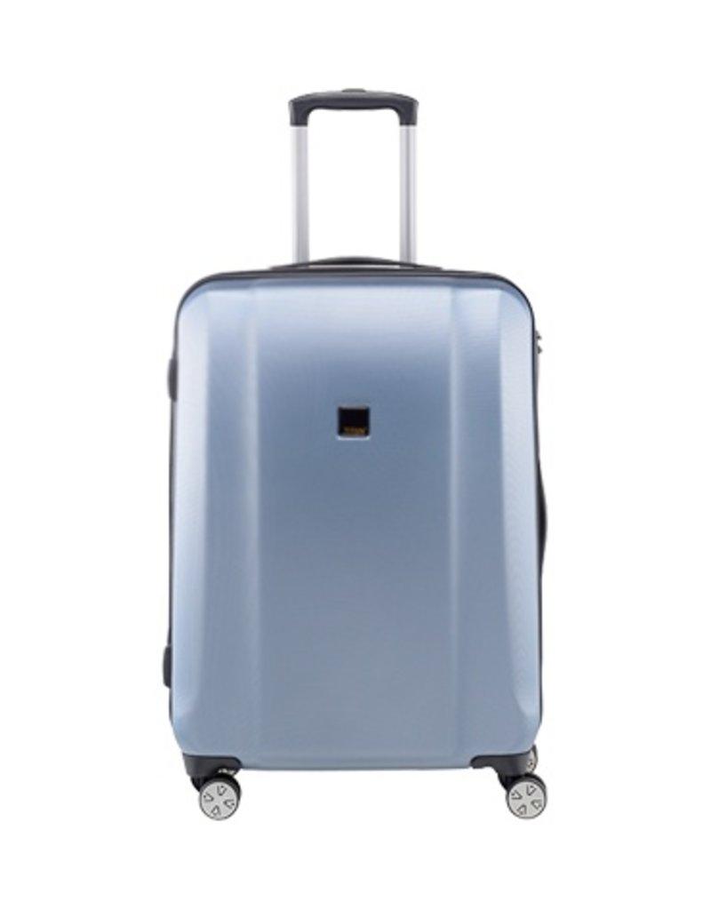 Titan Titan Xenon Trolley blauwe middenmaat koffer 80 liter Bluestone