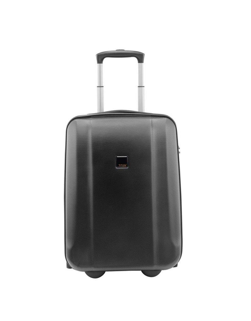 Titan Titan Xenon 2 wiel handbagage koffer Black 54 cm