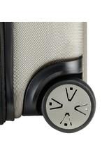 Titan Titan Xenon kofferset driedelig champagne handbagage middenmaat en grote reiskoffer