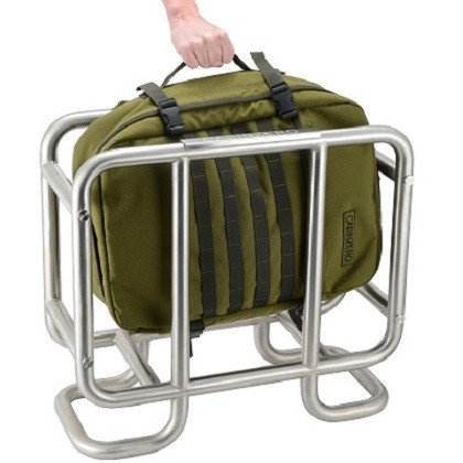 Cabinzero Cabinzero Military 44L handbagage Military Black ultralichte cabin rugzak