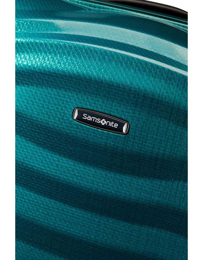 Samsonite Samsonite Lite-Shock Spinner 69 Petrol Blue Curv lichtgewicht reiskoffer
