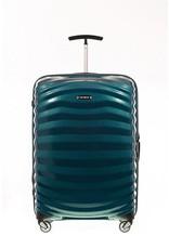 Samsonite Samsonite Lite-Shock Spinner 75 Petrol Blue Curv lichtgewicht reiskoffer