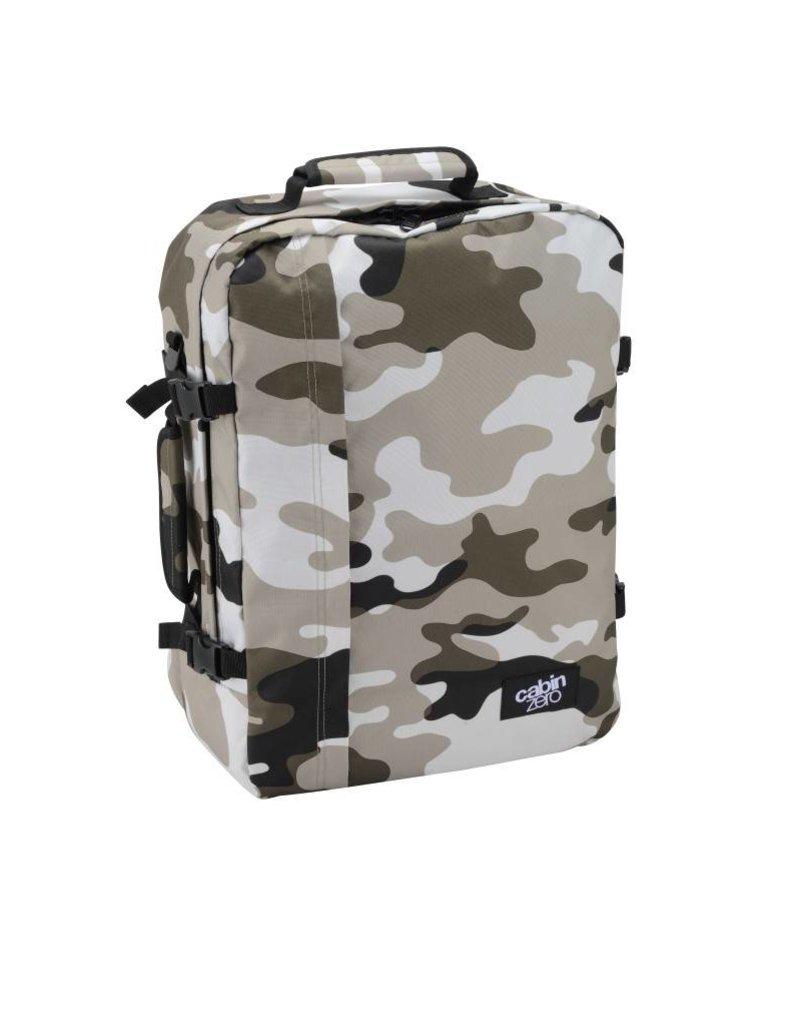 Cabinzero Cabinzero Classic handbagage Grey Camo ultralichte cabin rugzak