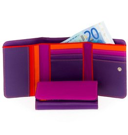 Mywalit Mywalit Medium Tri-fold - Wallet - damesportemonnee - Sangria Multi