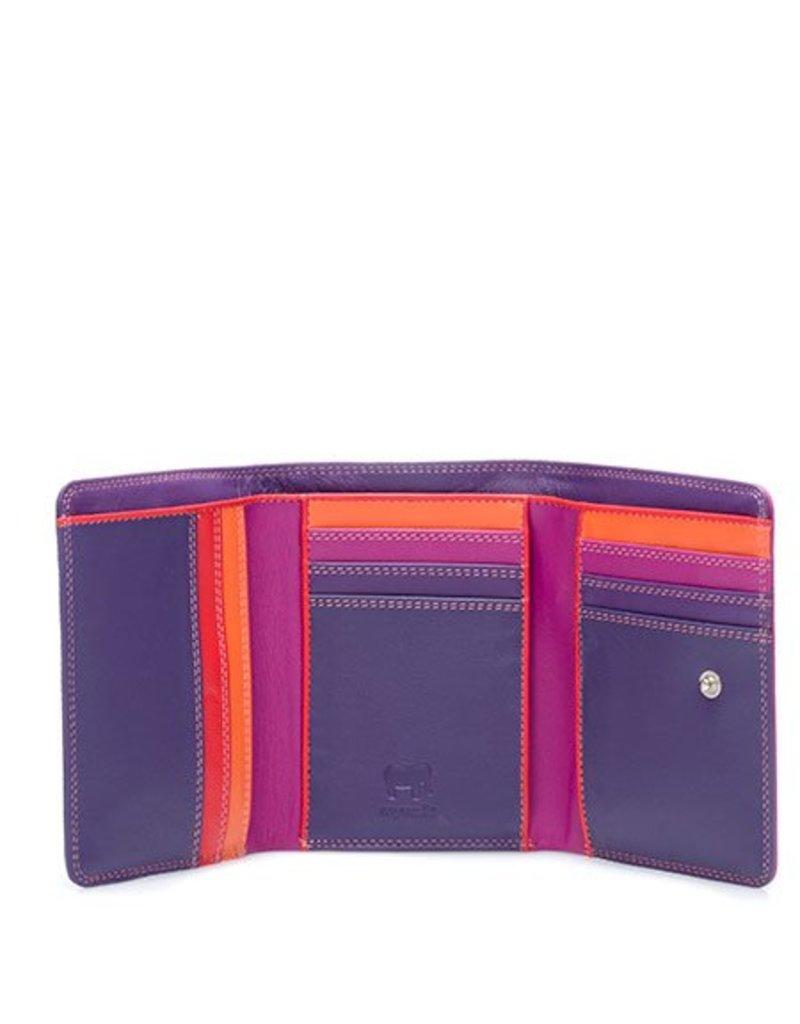 Mywalit Mywalit Medium Tri-fold - Wallet - Sangria Multi - portemonnee