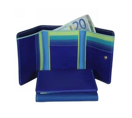 Mywalit Mywalit Medium Tri-fold - Wallet - Seascape - portemonnee
