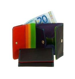 Mywalit Mywalit Bi-fold Wallet met Tray Purse - damesportemonnee - Black Pace
