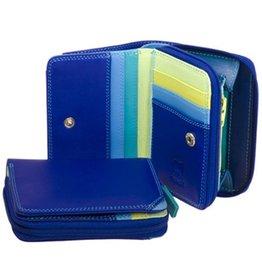Mywalit Mywalit Small Wallet met Zip Around Purse - damesportemonnee - Seascape