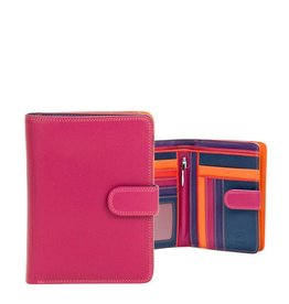 Mywalit Mywalit Large Wallet Zip Purse - damesportemonnee - Sangria Multi