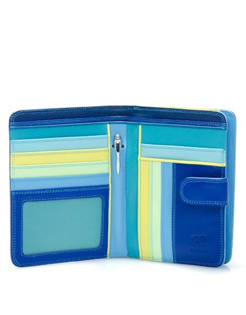 Mywalit Mywalit Large Wallet met Zip Purse - Seascape - portemonnee - kleurtjes