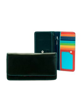 Mywalit Mywalit Medium Matinee Purse Wallet - damesportemonnee - Black Pace