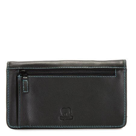 Mywalit Mywalit Medium Matinee Purse Wallet - Black Pace - portemonnee