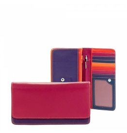 Mywalit Mywalit Medium Matinee Purse Wallet - damesportemonnee - Sangria Multi