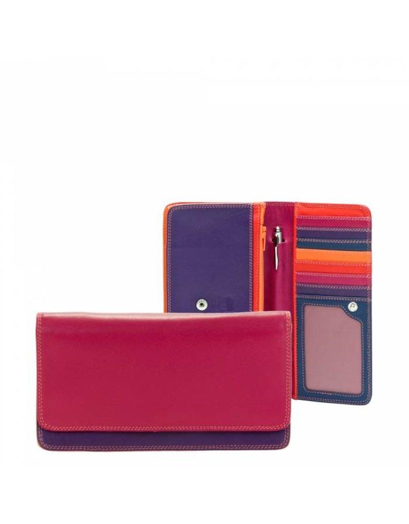 Mywalit Mywalit Medium Matinee Purse Wallet - Sangria Multi - portemonnee