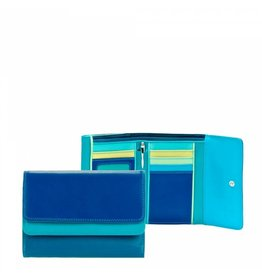 Mywalit Mywalit Double Flap Purse Wallet - damesportemonnee - Seascape