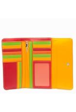 Mywalit Mywalit Tri-Fold met Outer Zip Purse - Jamaica - portemonnee - kleurtjes