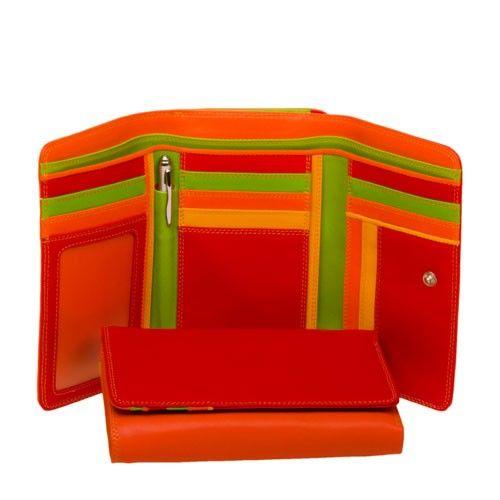Mywalit Mywalit Medium Tri-Fold met Outer Zip Purse - Jamaica - portemonnee