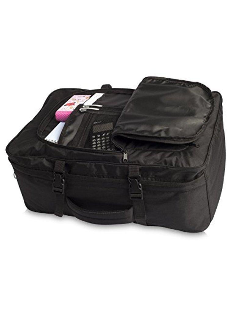 Fabrizio Fabrizio - handbagagerugzak - 55x35x20 cm - zwart