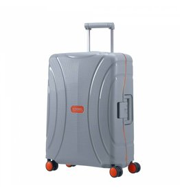 American Tourister American Tourister Lock 'n Roll Spinner 55 Volt Grey handbagage