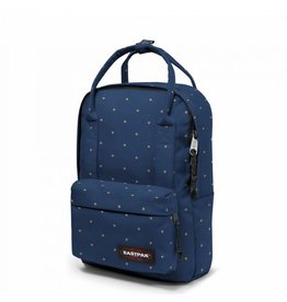 Eastpak Eastpak Padded Shop'r Dot Blue rugzak handtas met laptopvak