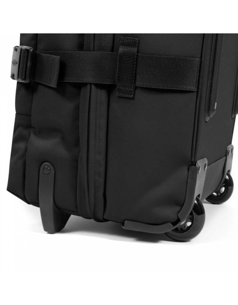 Eastpak Eastpak Tranverz S Black Handbagage reistas met trolleysysteem wieltjes zwart