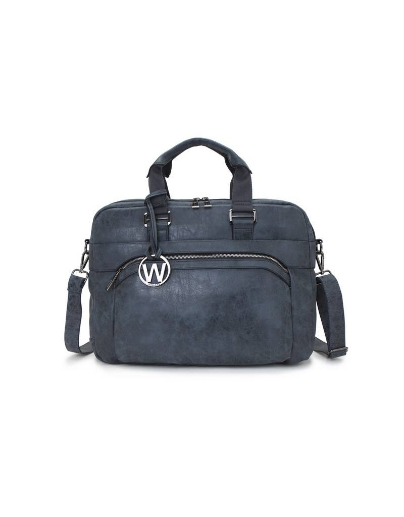 Wimona Wimona Eliana - school / werk 16 inch laptoptas - zwart