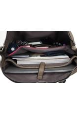Wimona Wimona Fabiana - school / werk 16 inch laptoptas - zwart