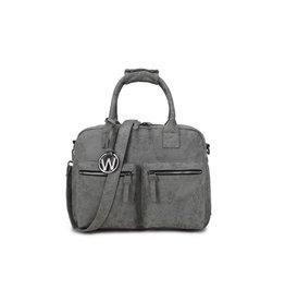 Wimona Wimona Alessia - school werk laptoptas - westernbag - grijs