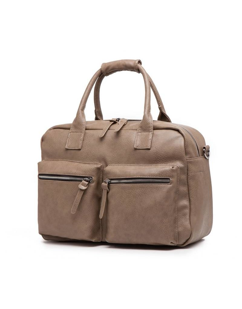 Wimona Wimona Alessia 1104 - school / werk 14 inch laptoptas - westernbag - taupe