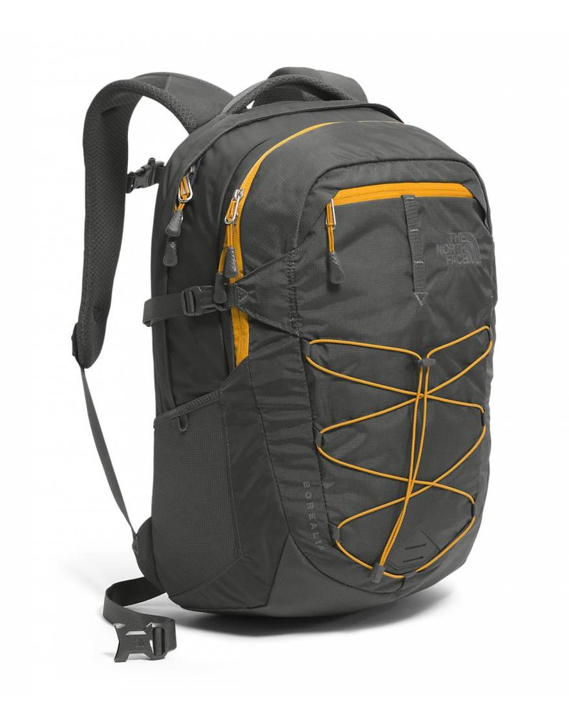 The North Face The North Face Borealis Asphalt Grey Citrine Yellow laptop tablet rugzak