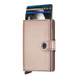 Secrid Secrid Mini Wallet Metallic Rose pasjeshouder