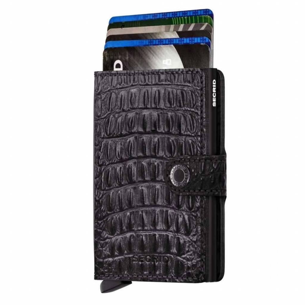 Porte Mini Carte Portefeuille Secrid Nil Noir 20wXuoiGg