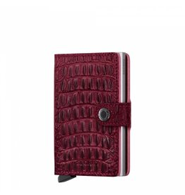 Secrid Secrid Mini Wallet Nile Red pasjeshouder