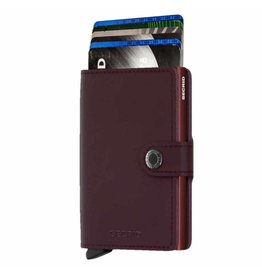Secrid Secrid Mini Wallet Original Bordeaux pasjeshouder