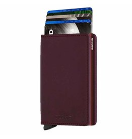 Secrid Secrid Slim Wallet Original Bordeaux pasjeshouder