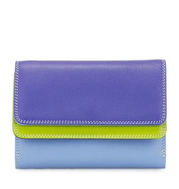 Mywalit Mywalit Double Flap Purse Wallet - damesportemonnee - Lavender